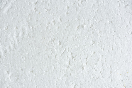 Close up of white color foam textured background.