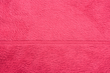 Close up of magenta color wool textured background Stock Photo