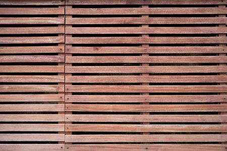 Wooden partition slat use to be decoration wall in household.