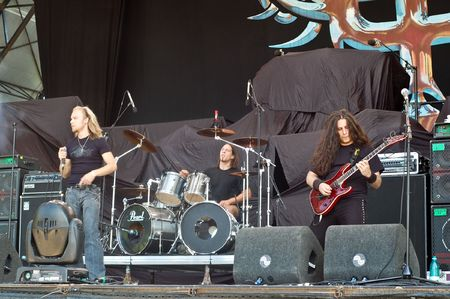 Bucharest - Romania, July 11, 2008 - Wisdom Performs Live at Bestfest