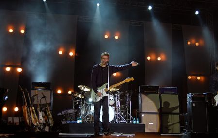 Bucharest - Romania, September 20, 2009 - Bryan Adams Performs Live in Izvor Park Editorial