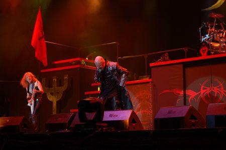 Bucharest - Romania, July 8 2008 - Judas Priest Performs at Bestfest