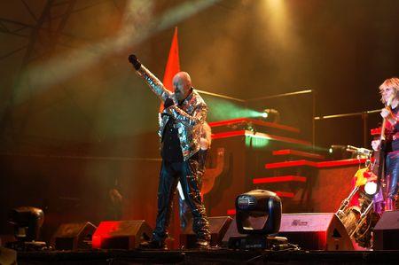 Bucharest - Romania, July 8 2008 - Judas Priest Performs at B'estfest Stock Photo - 6884957