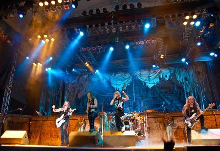 Bucharest - Romania, August 4, 2008 - Iron Maiden Performing Live at Cotroceni Stadium Stock Photo - 6885000