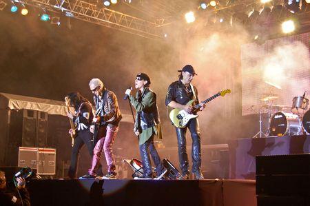 live performance: Craiova - Romania, October 23, 2008 - The Scorpions Performing Live at Craiova Velodrome