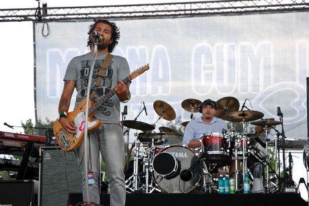 Targu Mures - Romania, August 28, 2010 - Magna Cum Laude Performing Live at Peninsula Festival
