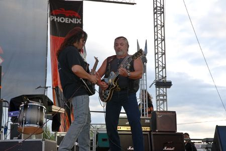 Targu Mures - Romania, August 28, 2010 - Phoenix Performing Live at Peninsula Festival
