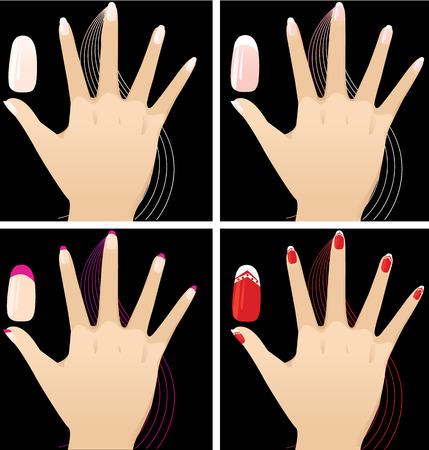 Manicure Vector