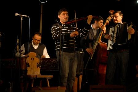 marsa: Bucharest - Romania, January 29, 2011 - Taraful Marsa and Nea Vasile perform at Clubul Taranului Editorial