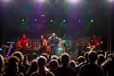 trooper: Constanta - Romania, June 11, 2011 - Trooper perform live at Seawolves Bike Fest 4