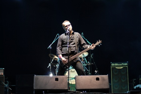 act of god: Targu Mures - Romania, August 27, 2011 - Nevergreen Performing Live at Peninsula Festival