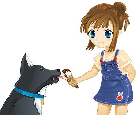 blue eyes girl: Sharing