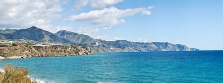 andalusia: Nerja Beach and City - Spain