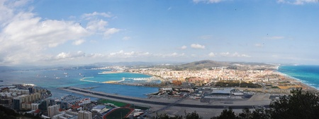 Bay of Gibraltar - Airport Stock Photo - 13357293