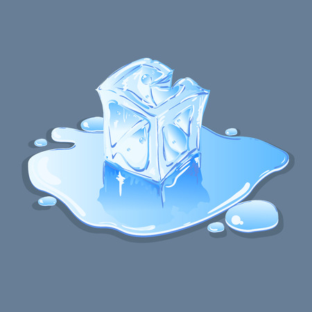 frozen drink: Ice cube