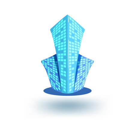 logotipo de construccion: La construcción o inmobiliario