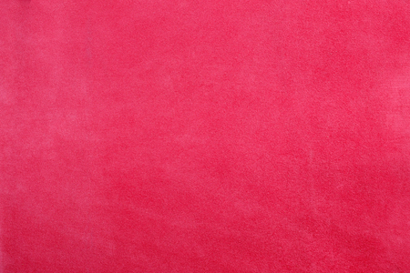 pink chamois texture, fluffy and soft background. Stock Photo