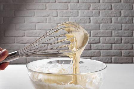 baking ingredient making dough