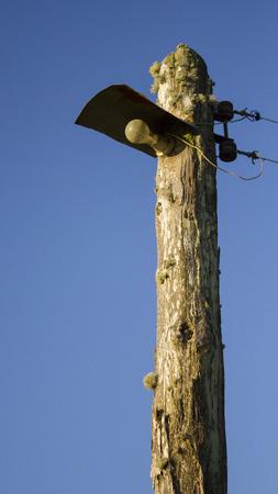 luminaire: Rural luminaire made of wood