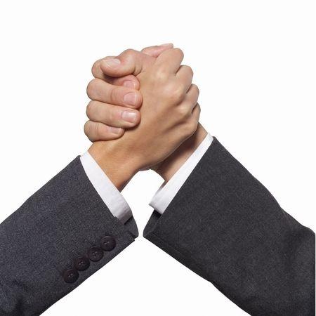 Hand shake Stock Photo - 6482201