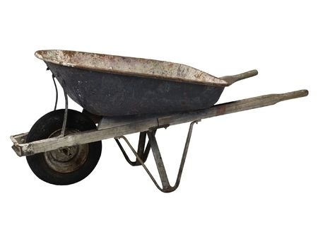 wheelbarrow For a kitchen garden 3 photo