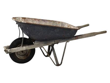 wheelbarrow For a kitchen garden 3 photo