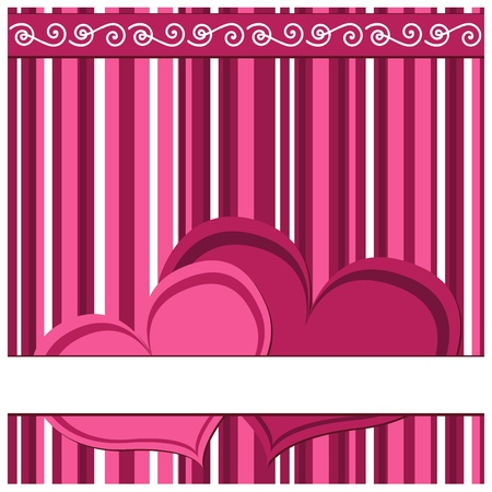 Valentine card Stock Vector - 12088211