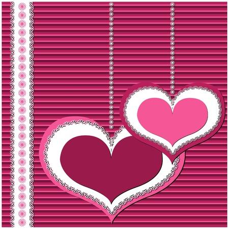love heart: Valentine card