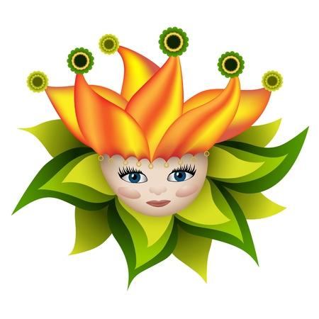 Sunny elf Vector