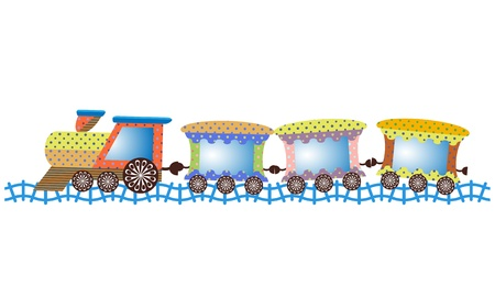 Baby train Illustration