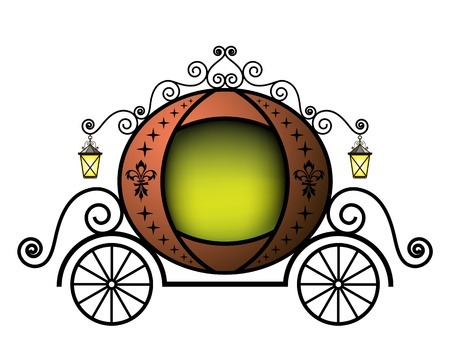 Chariot de conte de fées