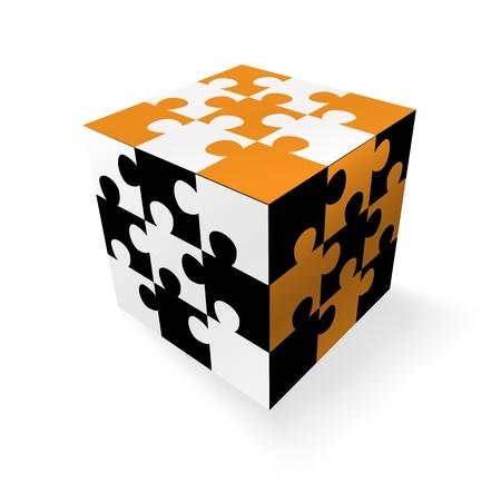 intentie: Jigsaw conceptontwerp