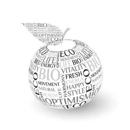 Vector design apple concept Stock Vector - 14581101
