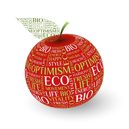 design apple concept Stock Vector - 14581046