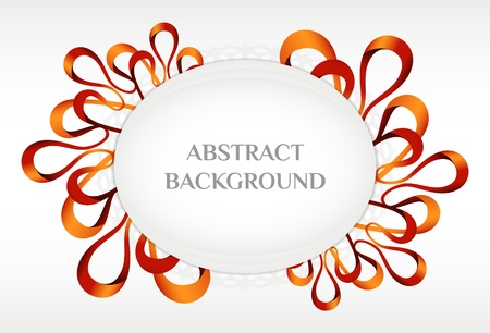 swirly design: Abstract background Illustration