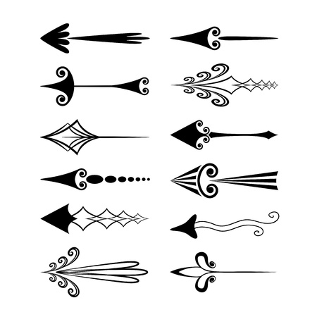 fleur: Vintage arrows Illustration