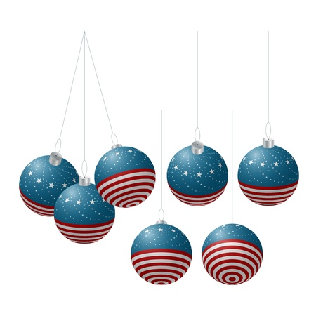 Isolated Christmas balls Stock Vector - 15479063