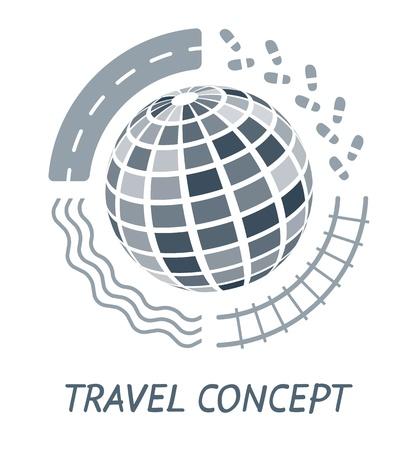 Travel concept 일러스트