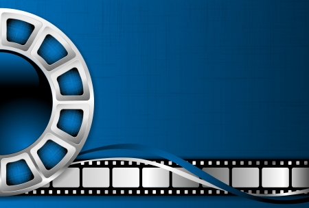 reels: Cinema theme background