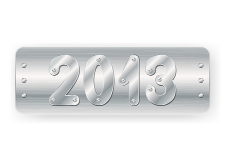 2013 design sign Vector