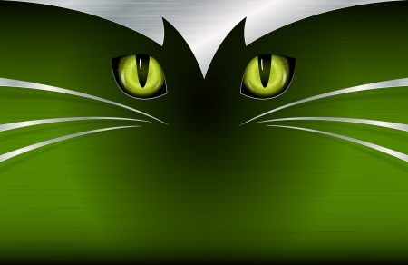 Cat s eyes background Stock Vector - 16039818