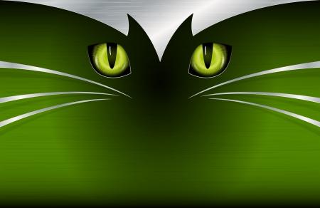 cat s: Cat s eyes background Illustration