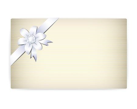 Elegant card note Vector