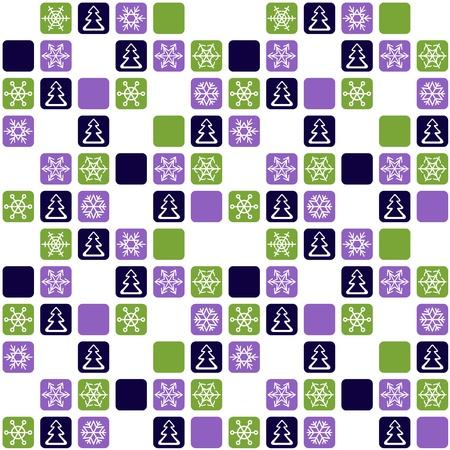 Christmas seamless pattern Stock Vector - 16270722