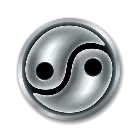 Yin Yang symbol Stock Vector - 16270772