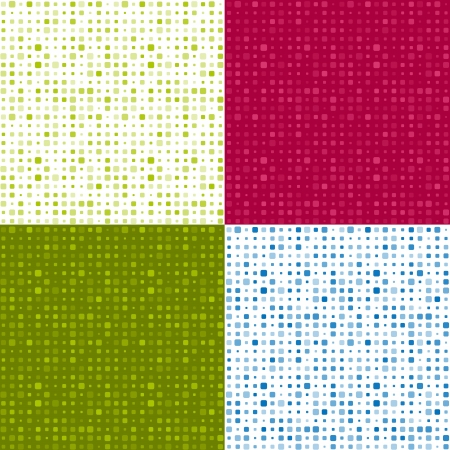 Set of seamless patterns Stock Vector - 16578201