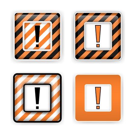 Warning signs Stock Vector - 16578206