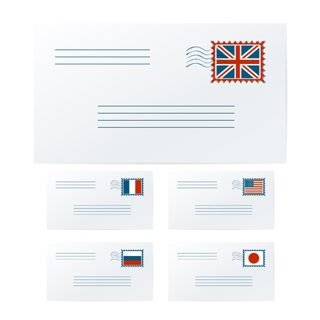 addressee: International envelopes