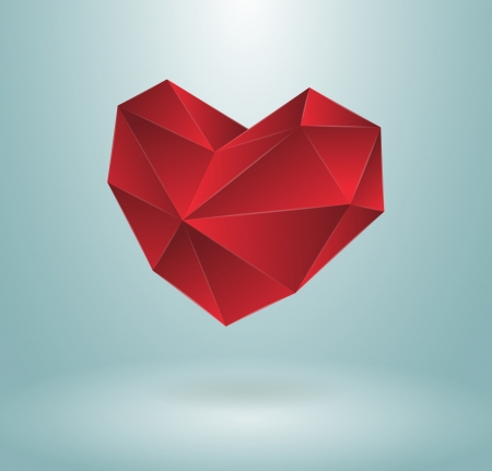 Heart concept, editable, isolated or maybe used with background