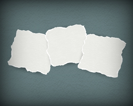 Torn paper background Vector